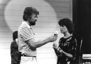 Gabriele M. Franzen im Interview zuTai Chi Chuan, Gesundheitsmagazin Praxis (ARD) auf der Funkausstellung Berlin 1983